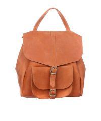 Рюкзак кожаный DEKEY 1.0 рыжий