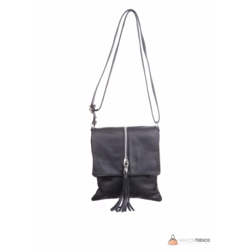 Итальянская кожаная сумка DIVAS SAMIRA TR931 черная