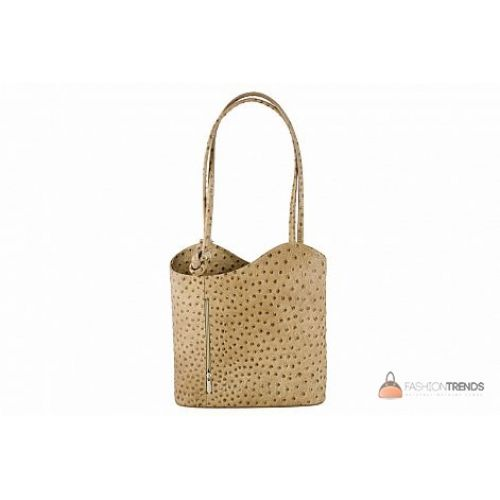 Итальянская кожаная сумка DIVAS Patty M8878 тауп