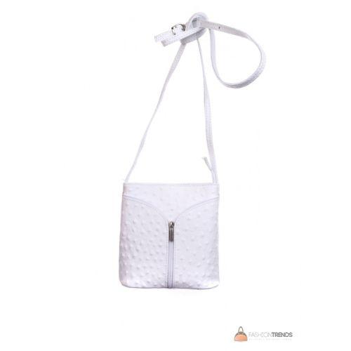 Итальянская кожаная сумка DIVAS KYRA Р2281 белая