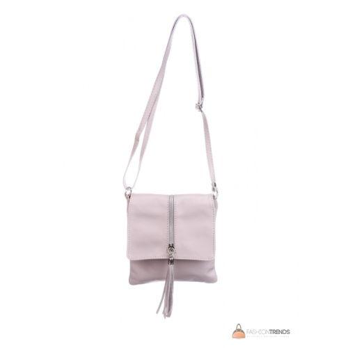 Итальянская кожаная сумка DIVAS SAMIRA TR931 розовая