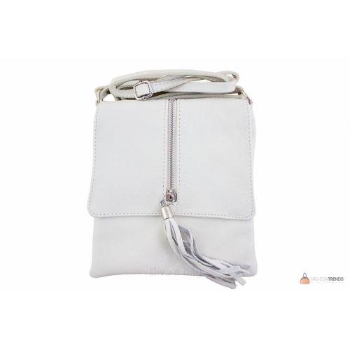Итальянская кожаная сумка DIVAS SAMIRA TR931 бежевая