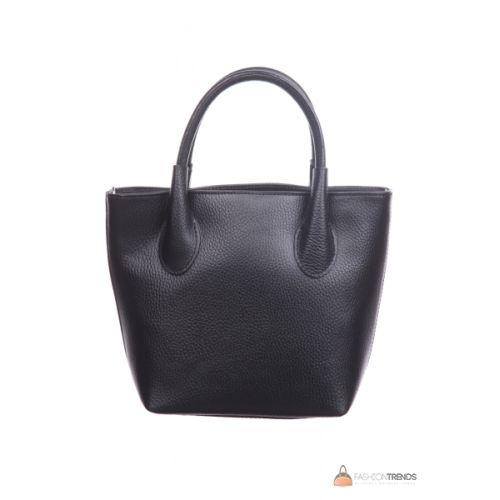 Итальянская кожаная сумка DIVAS Molly M8837 черная