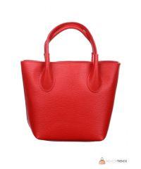 Итальянская кожаная сумка DIVAS Molly M8837 красная