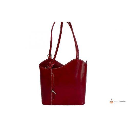 Итальянская кожаная сумка DIVAS CHIARA S6833 красная