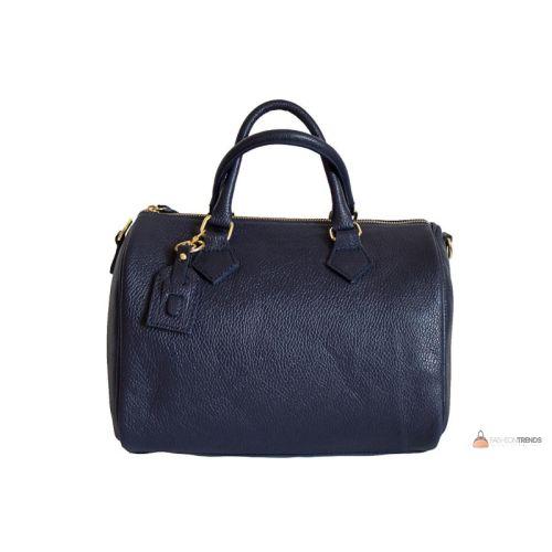 Итальянская кожаная сумка DIVAS DORETTA M8873 синяя