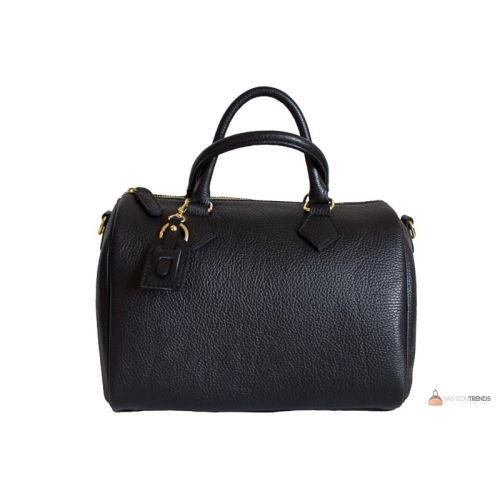 Итальянская кожаная сумка DIVAS DORETTA M8873 черная