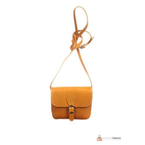 Итальянская кожаная сумка DIVAS Alma TR956 желтая