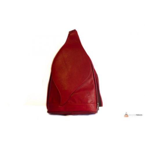 Итальянская кожаная сумка DIVAS BLOSSOM S6924 коньячная