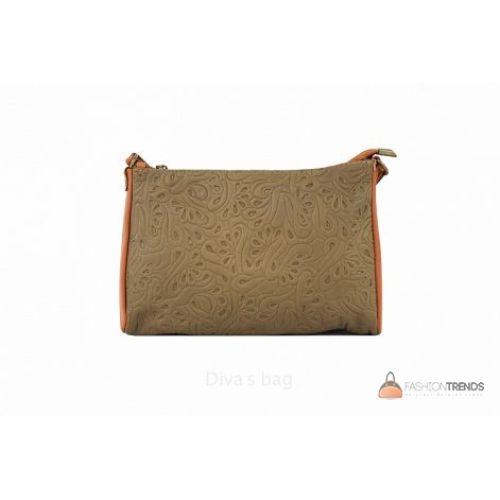 Итальянская кожаная сумка DIVAS Trasea TR 969 тауп