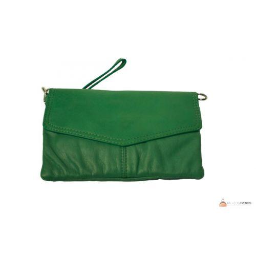 Итальянский кожаный клатч DIVAS DIANA BM15212 зеленый