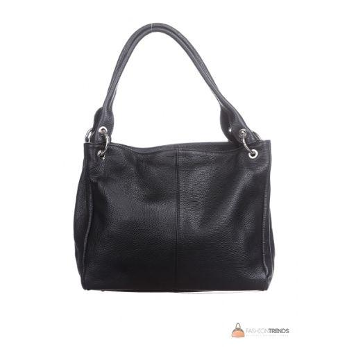 Итальянская кожаная сумка DIVAS ASIA S6814 черная