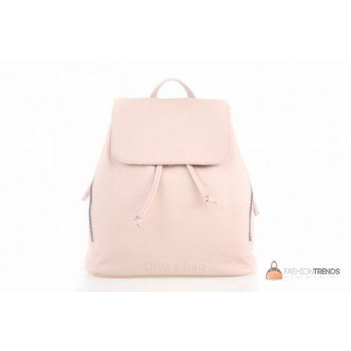 Итальянский кожаный рюкзак DIVAS Zelinda S7068 розовый