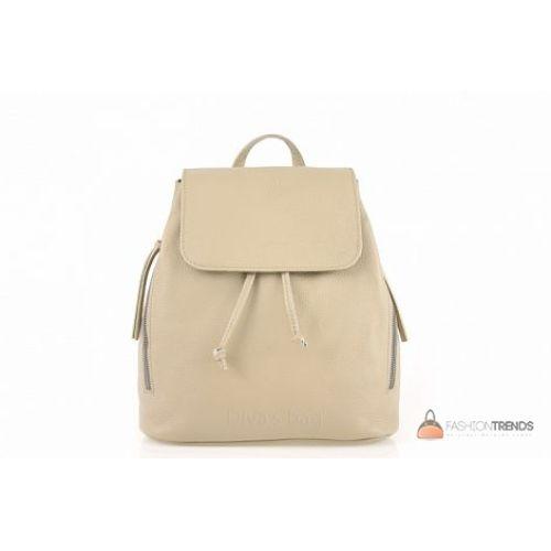 Итальянский кожаный рюкзак DIVAS Zelinda S7068 тауп