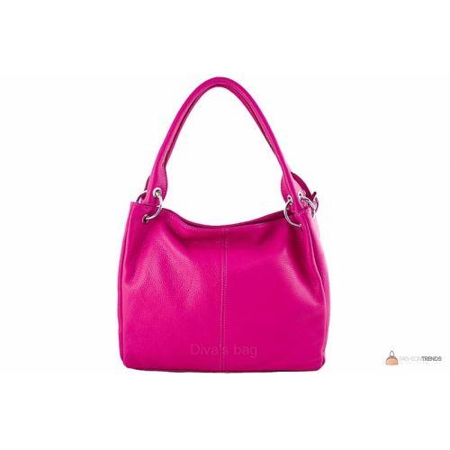 Итальянская кожаная сумка DIVAS ASIA S6814 фуксия