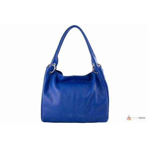 Итальянская кожаная сумка DIVAS ASIA S6814 синяя