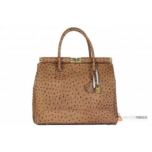 Итальянская кожаная сумка DIVAS GILDA M8835 тауп