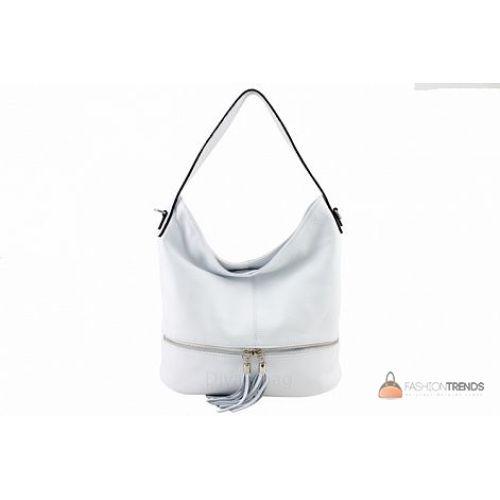 Итальянская кожаная сумка DIVAS Klara S7022 белая