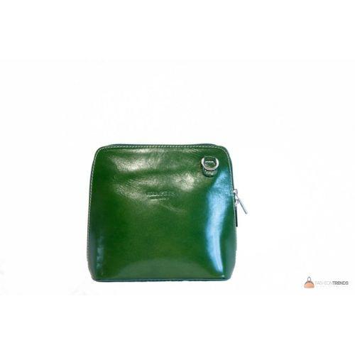 Итальянская кожаная сумка DIVAS RAMONA TR923 зеленая