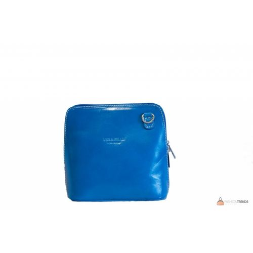Итальянская кожаная сумка DIVAS RAMONA TR923 бирюзовая