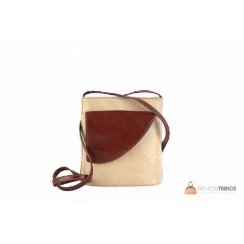 Итальянская кожаная сумка DIVAS Dotty TR964 тауп