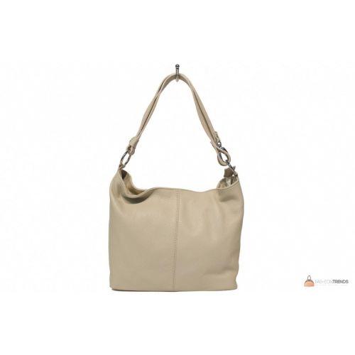 Итальянская кожаная сумка DIVAS LORELLA BS15207 бежевая