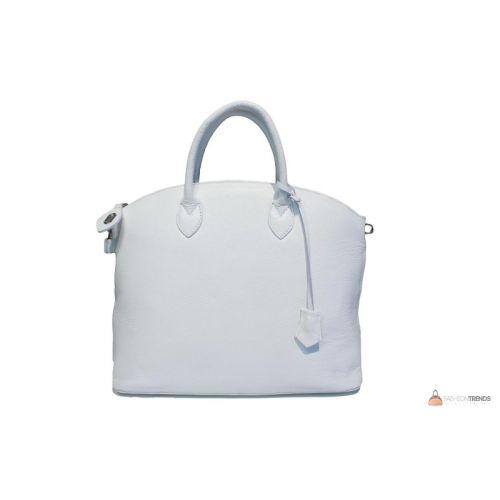 Итальянская кожаная сумка DIVAS GLENDA M8865 белая
