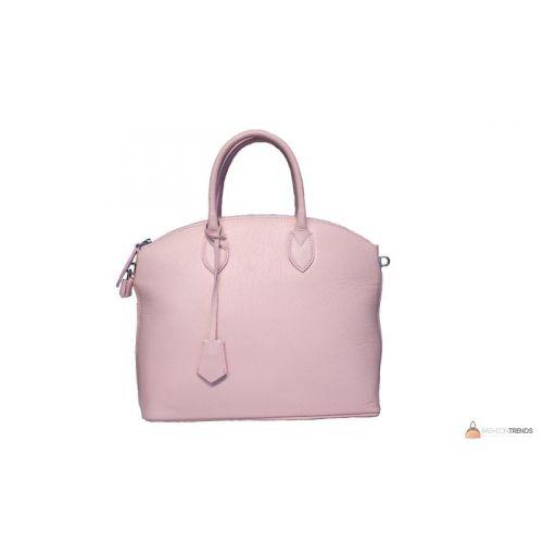 Итальянская кожаная сумка DIVAS GLENDA M8865 розовая
