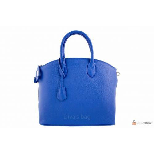 Итальянская кожаная сумка DIVAS GLENDA M8865 синяя