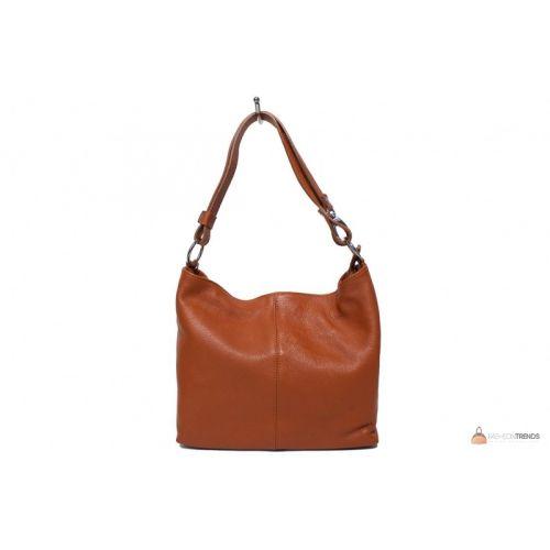 Итальянская кожаная сумка DIVAS LORELLA BS15207 коньячная