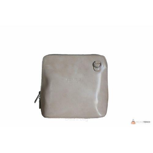 Итальянская кожаная сумка DIVAS RAMONA TR923 бежевая