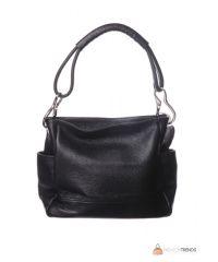 Итальянская кожаная сумка DIVAS SHEILA S6914 черная