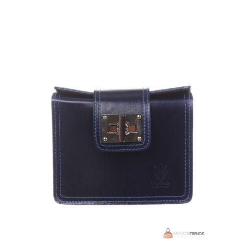 Итальянская кожаная сумка DIVAS EMILY TR922 черная
