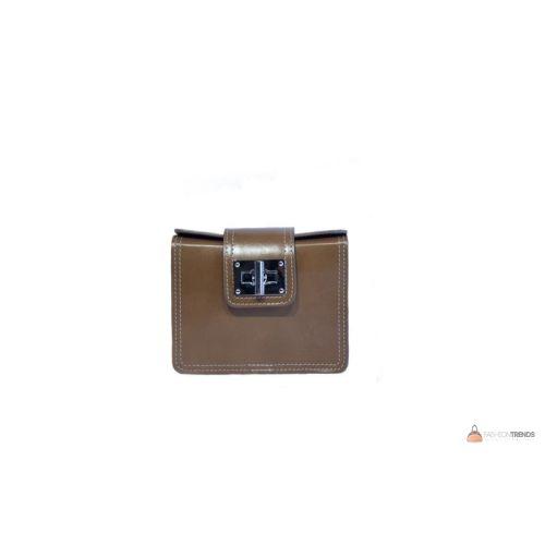 Итальянская кожаная сумка DIVAS EMILY TR922 тауп