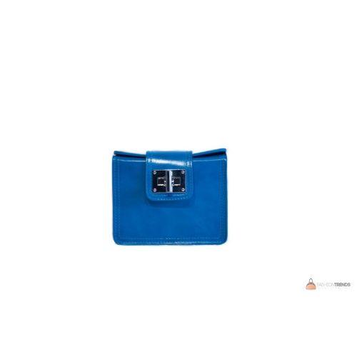 Итальянская кожаная сумка DIVAS EMILY TR922 голубая
