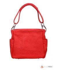 Итальянская кожаная сумка DIVAS SHEILA S6914 красная