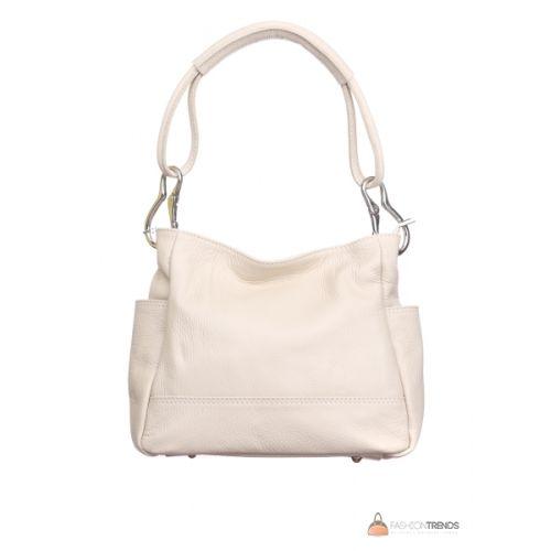 Итальянская кожаная сумка DIVAS SHEILA S6914 бежевая