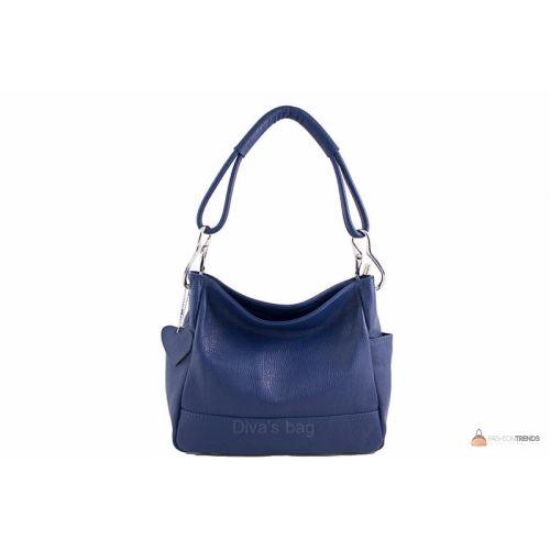 Итальянская кожаная сумка DIVAS SHEILA S6914 темно-синяя