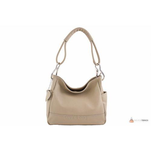 Итальянская кожаная сумка DIVAS SHEILA S6914 тауп