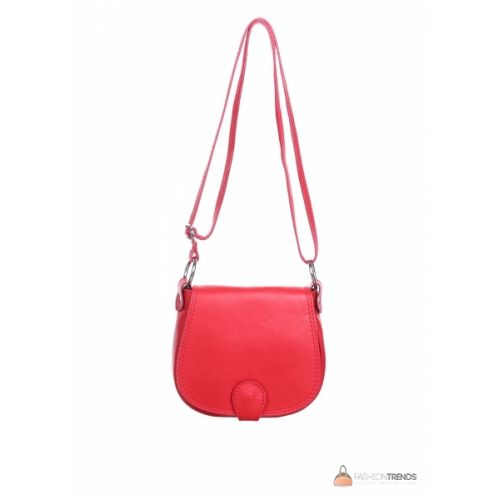 Итальянская кожаная сумка DIVAS SIBILLA TR927 красная