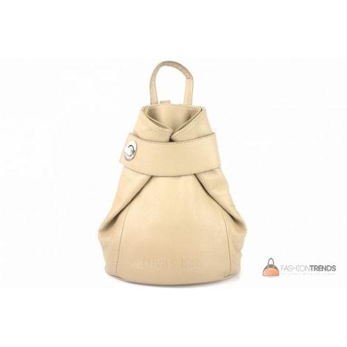 Итальянский кожаный рюкзак DIVAS Latisha S7073 тауп