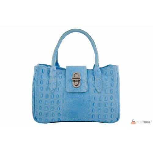 094709659ea3 Итальянская кожаная сумка DIVAS NARCISA М8904 голубая купить в Киеве