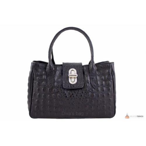 a9676c5c6bee Итальянская кожаная сумка DIVAS NARCISA М8904 черная купить в Киеве