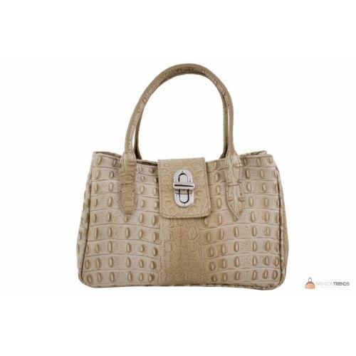 Итальянская кожаная сумка DIVAS NARCISA М8904 тауп