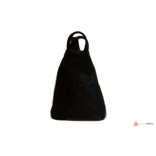 Итальянский кожаный рюкзак DIVAS STEFANIA S6925 черный