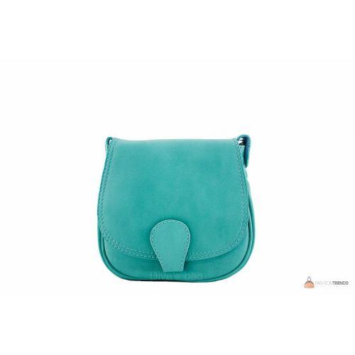 Итальянская кожаная сумка DIVAS SIBILLA TR927 бирюзовый