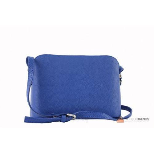 Итальянская кожаная сумка DIVAS Violetta TR952 синяя