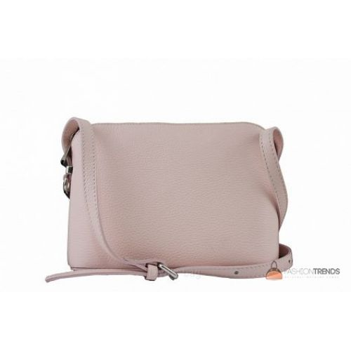 Итальянская кожаная сумка DIVAS Violetta TR952 розовая