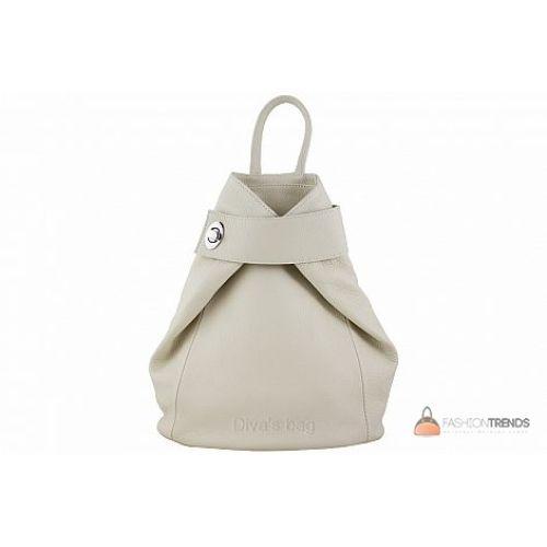 Итальянский кожаный рюкзак DIVAS Stella S6933 бежевый