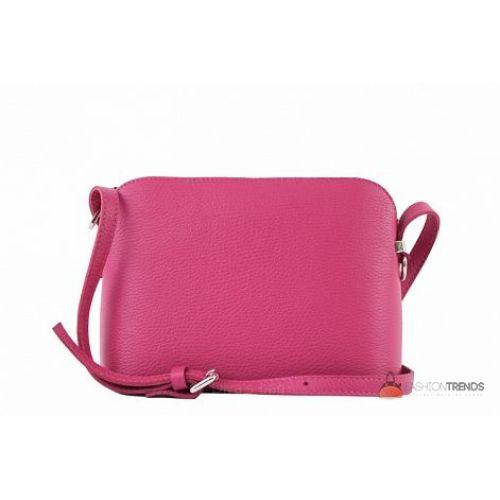 Итальянская кожаная сумка DIVAS Violetta TR952 фуксия